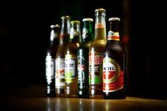 Diverses bières Photographie stock libre de droits