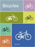 Diverses bicyclettes illustration libre de droits