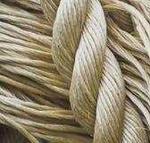 Diverses cordes affichant leur texture Image libre de droits