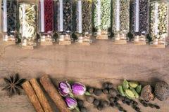 Diverses graines d'épices photo libre de droits