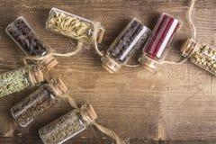 Diverses graines d'épices photographie stock libre de droits