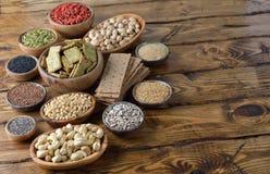 Diverses nourritures superbes Image stock