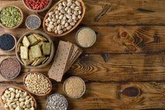 Diverses nourritures superbes Photo stock