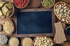 Diverses nourritures superbes Photos libres de droits