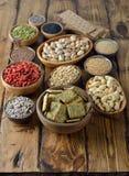 Diverses nourritures superbes Photos stock