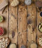 Diverses nourritures superbes Photographie stock libre de droits