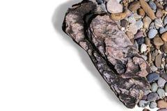 Diverses pierres colorées Photo libre de droits