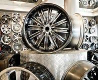 Diverses roues d'alliage Photo libre de droits