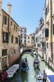 Diverses vues de la ville de touristes de Venise, Italie images stock
