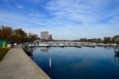 Diversey Harbor Royalty Free Stock Photography