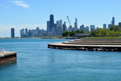 Diversey Harbor Outlet Stock Photography