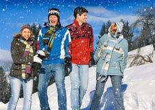 Diversión 13 del invierno Fotografía de archivo libre de regalías