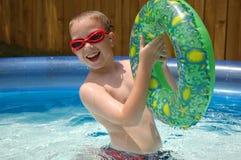 Diversión #8 de la piscina Imágenes de archivo libres de regalías