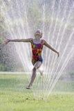 Diversión caliente del agua del verano Imagen de archivo