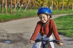 Diversión con la bici Foto de archivo libre de regalías