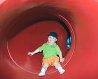 Diversión de la diapositiva del tubo Foto de archivo