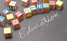 Diversión de la educación Imágenes de archivo libres de regalías