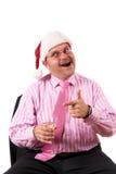 Diversión de la fiesta de Navidad Imágenes de archivo libres de regalías