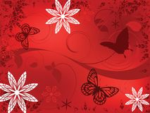 Diversión de la mariposa stock de ilustración