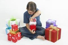Diversión de la Navidad Foto de archivo libre de regalías