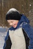 Diversión de la nieve Fotos de archivo libres de regalías