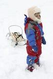 Diversión de la nieve foto de archivo