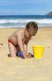 Diversión de la playa Imagen de archivo libre de regalías
