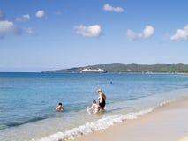 Diversión de la playa Imagen de archivo