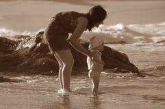 Diversión de la playa Foto de archivo