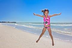 Diversión de la playa del verano Fotografía de archivo