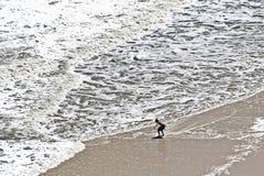 Diversión de la playa del verano Fotografía de archivo libre de regalías