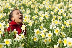 Diversión de la primavera Imágenes de archivo libres de regalías