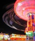 Diversión de la vida nocturna de Oktoberfest Fotografía de archivo