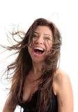 Diversión de la vitalidad de la belleza de la felicidad Fotografía de archivo