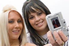 Diversión de las cámaras digitales Imagen de archivo