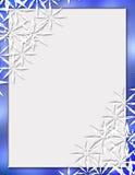 Diversión de Snowfake Imagen de archivo