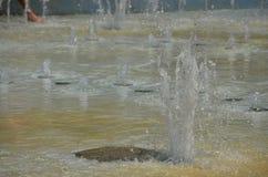 Diversión del agua en verano Imagen de archivo libre de regalías