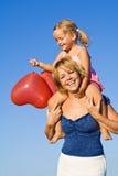 Diversión del baloon del verano Foto de archivo libre de regalías
