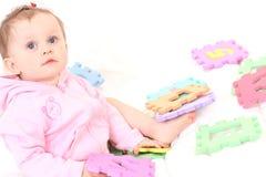 Diversión del bebé Fotografía de archivo