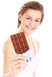 Diversión del chocolate Imagenes de archivo
