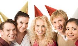 Diversión del cumpleaños Imagen de archivo libre de regalías