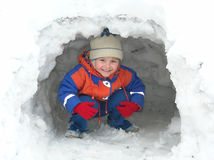 Diversión del invierno Fotografía de archivo libre de regalías