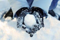 Diversión del invierno Foto de archivo libre de regalías