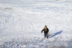 Diversión del invierno Imágenes de archivo libres de regalías