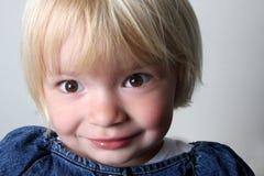 Diversión del niño Foto de archivo