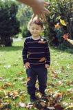 Diversión del otoño Imagen de archivo