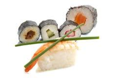Diversión del sushi Imagenes de archivo