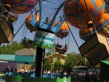 Diversión del verano en Carowinds Foto de archivo libre de regalías