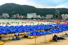 Diversión del verano en Corea Fotografía de archivo libre de regalías
