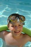 Diversión del verano en la piscina Fotografía de archivo libre de regalías